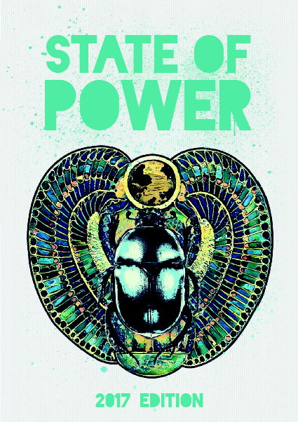 Cover of State of Power 2017 book